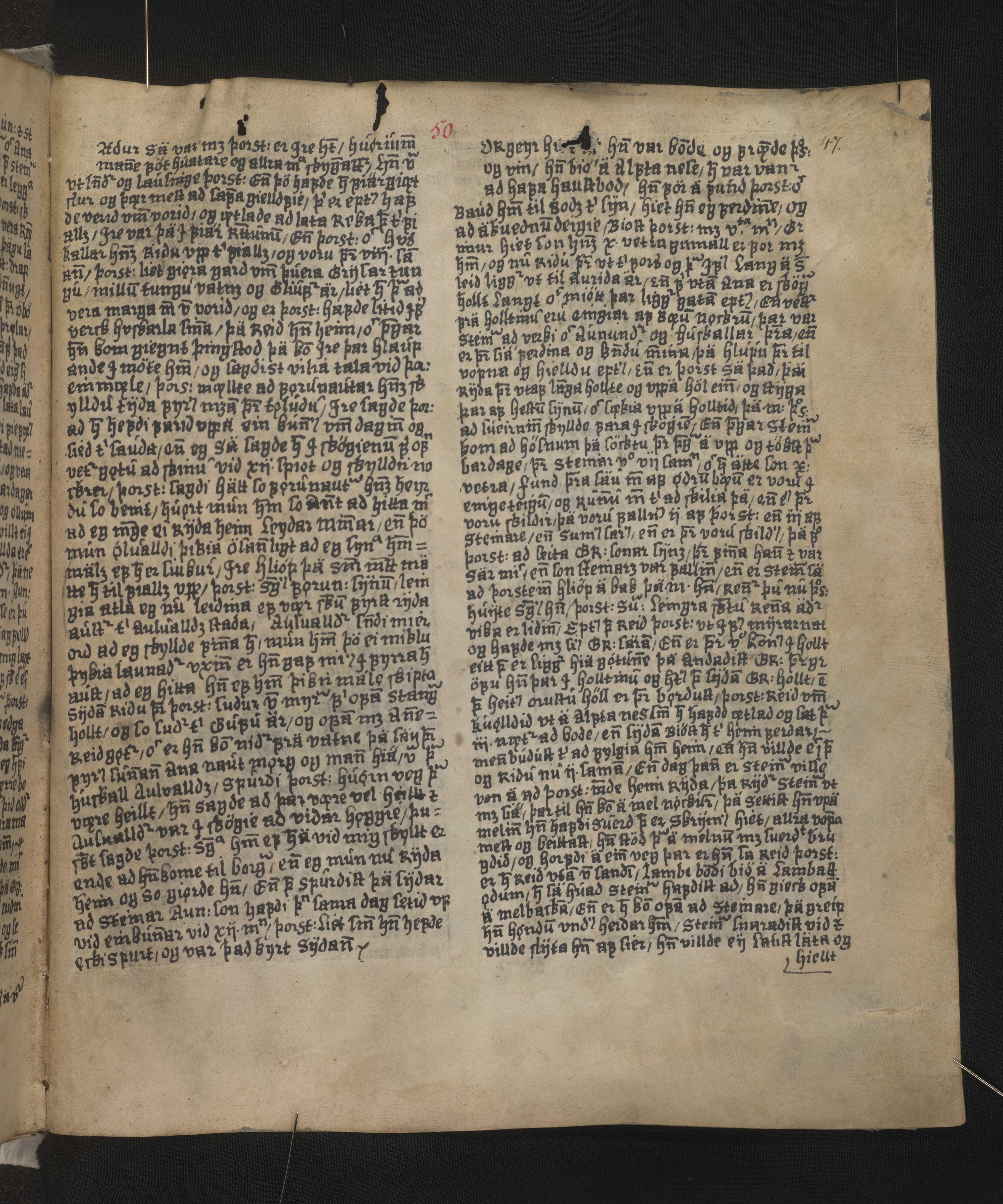 AM 128 fol - 50r