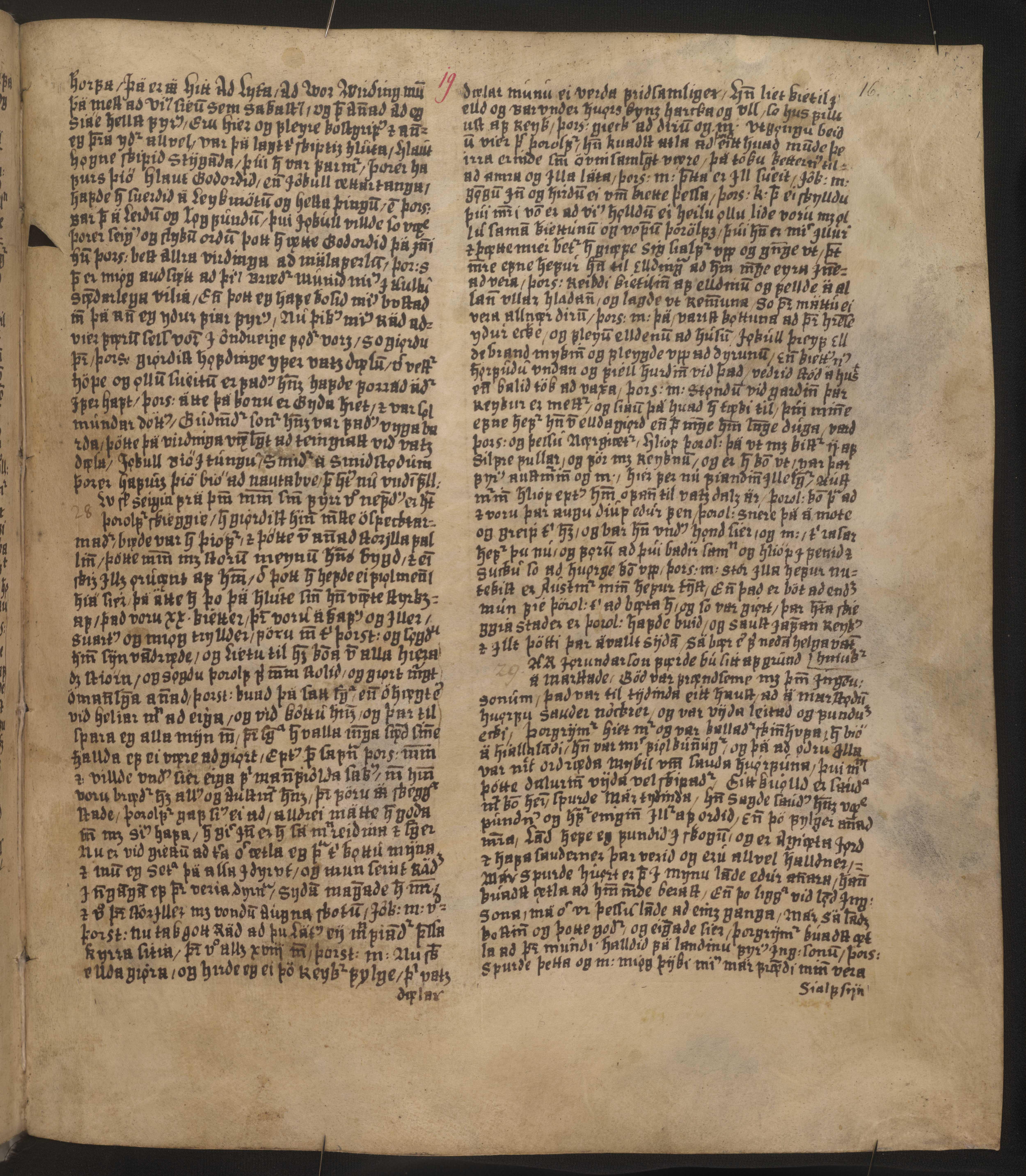 AM 128 fol - 19r