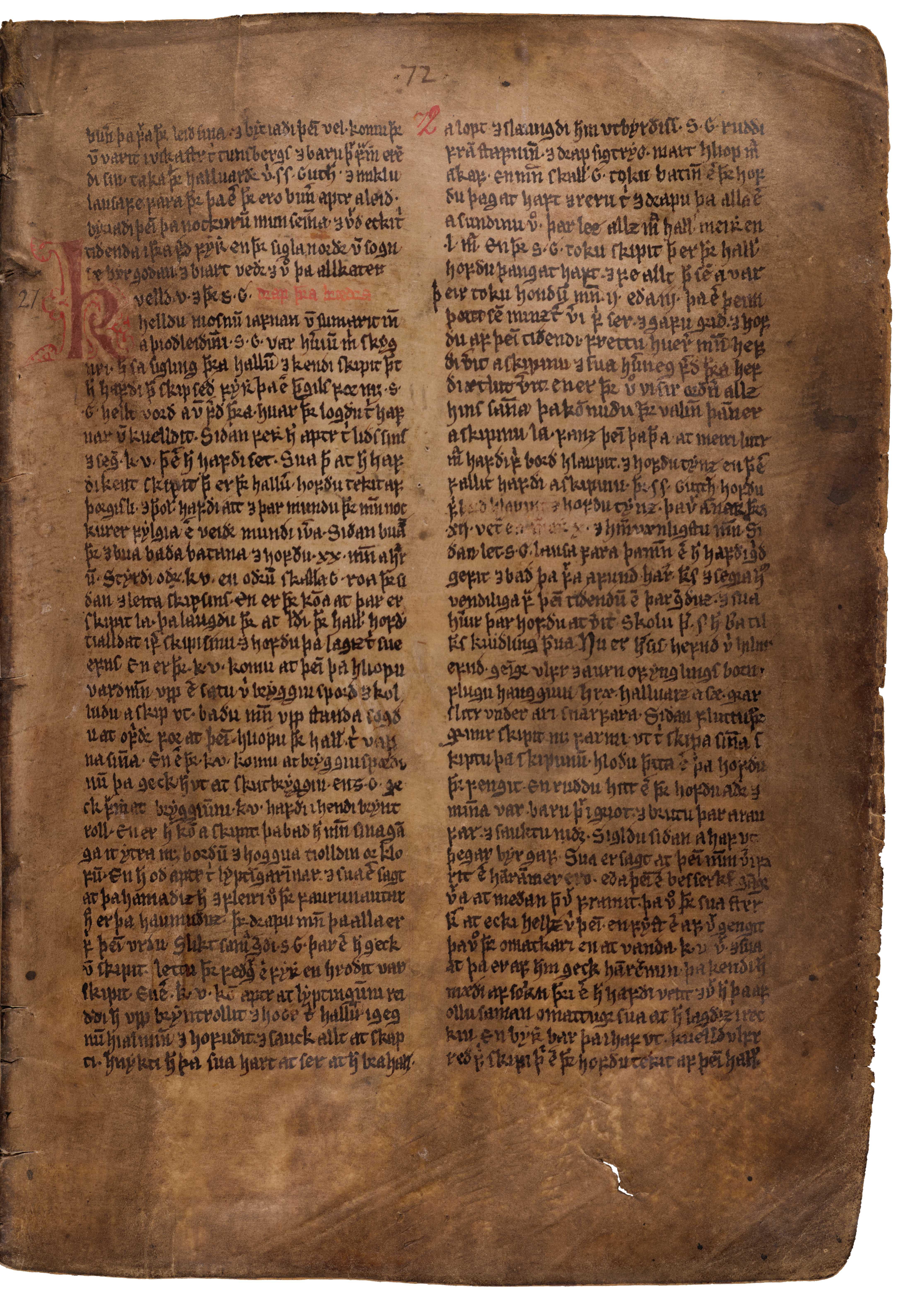 AM 132 fol - 72r