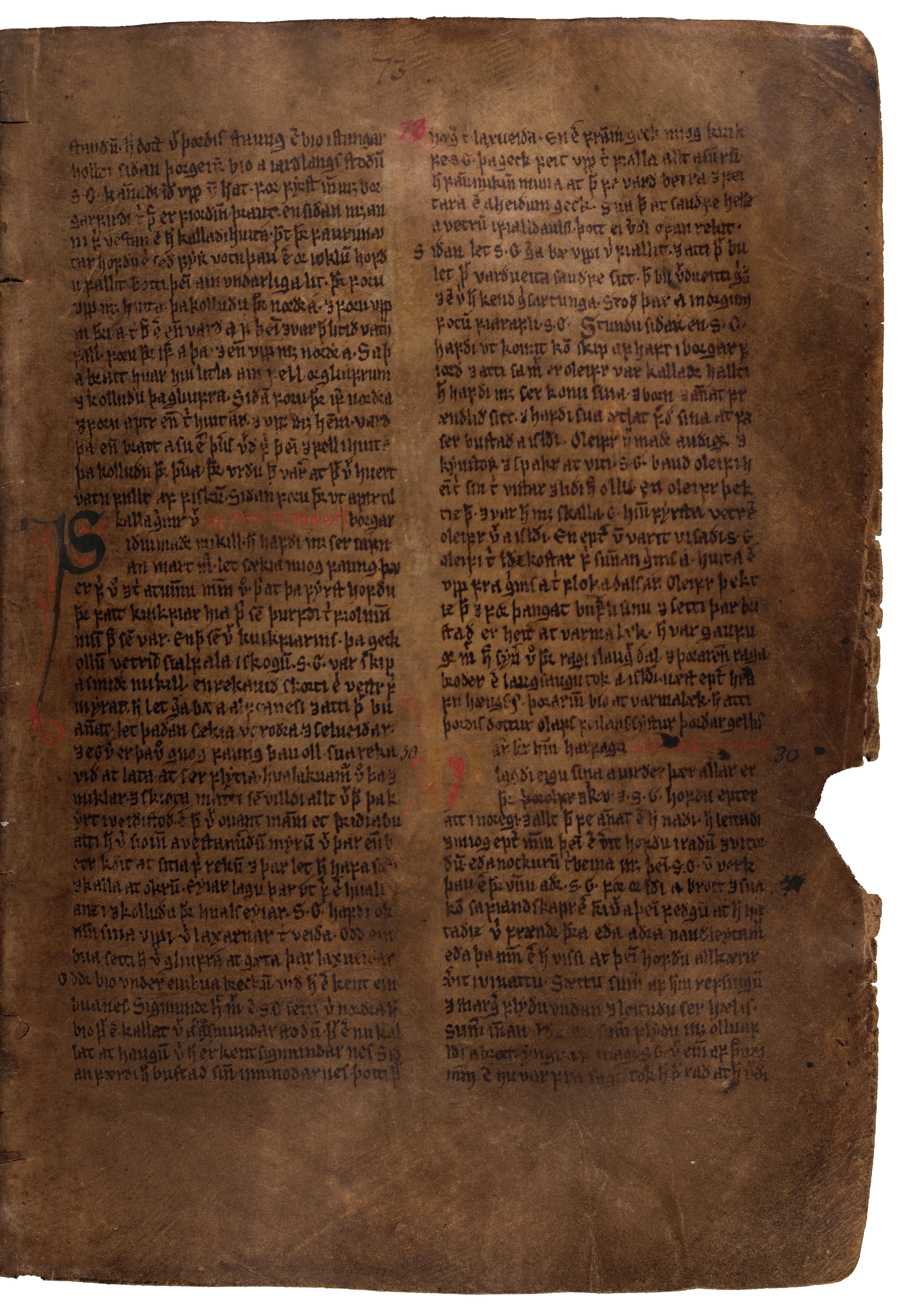 AM 132 fol - 73r