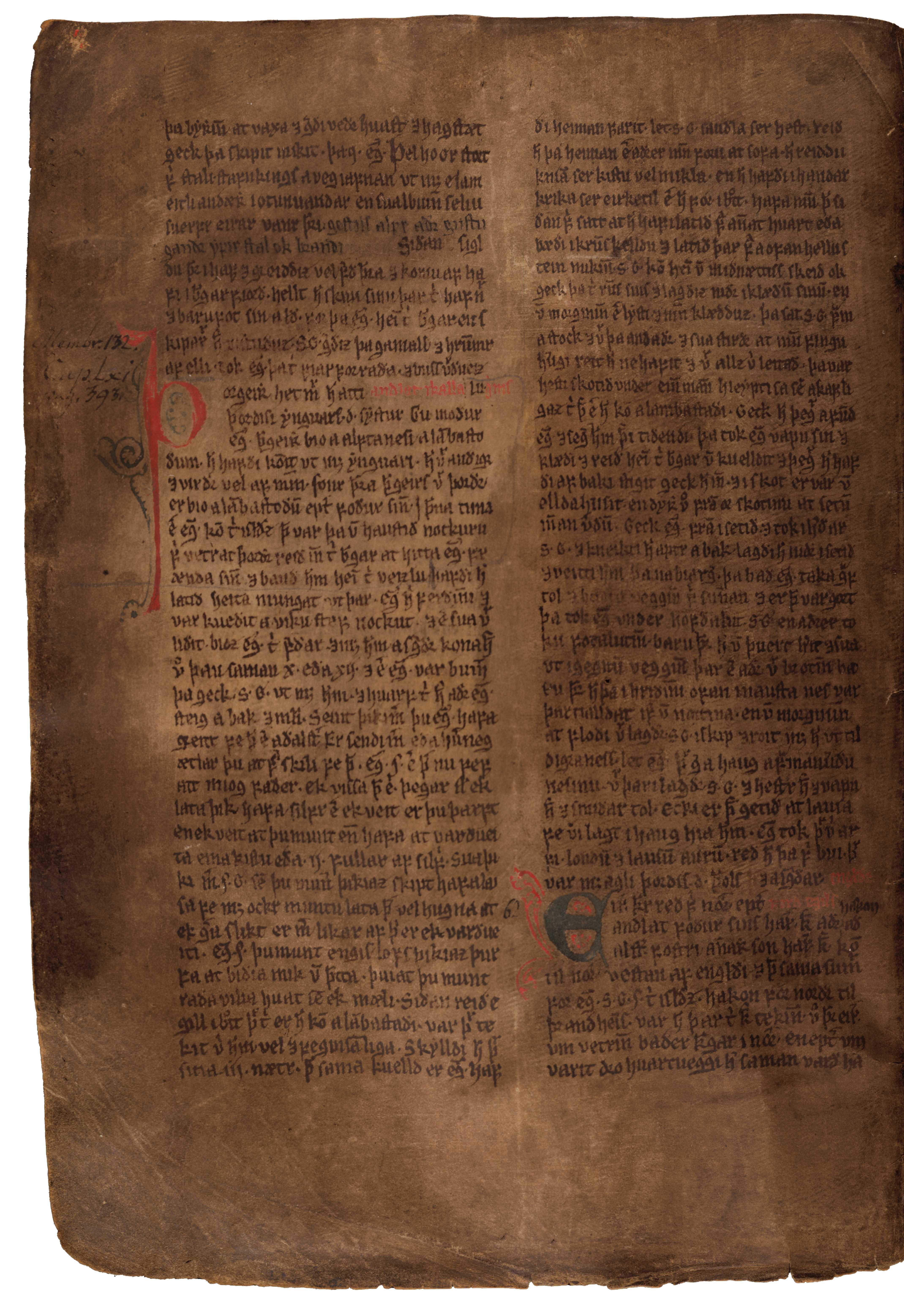 AM 132 fol - 85v