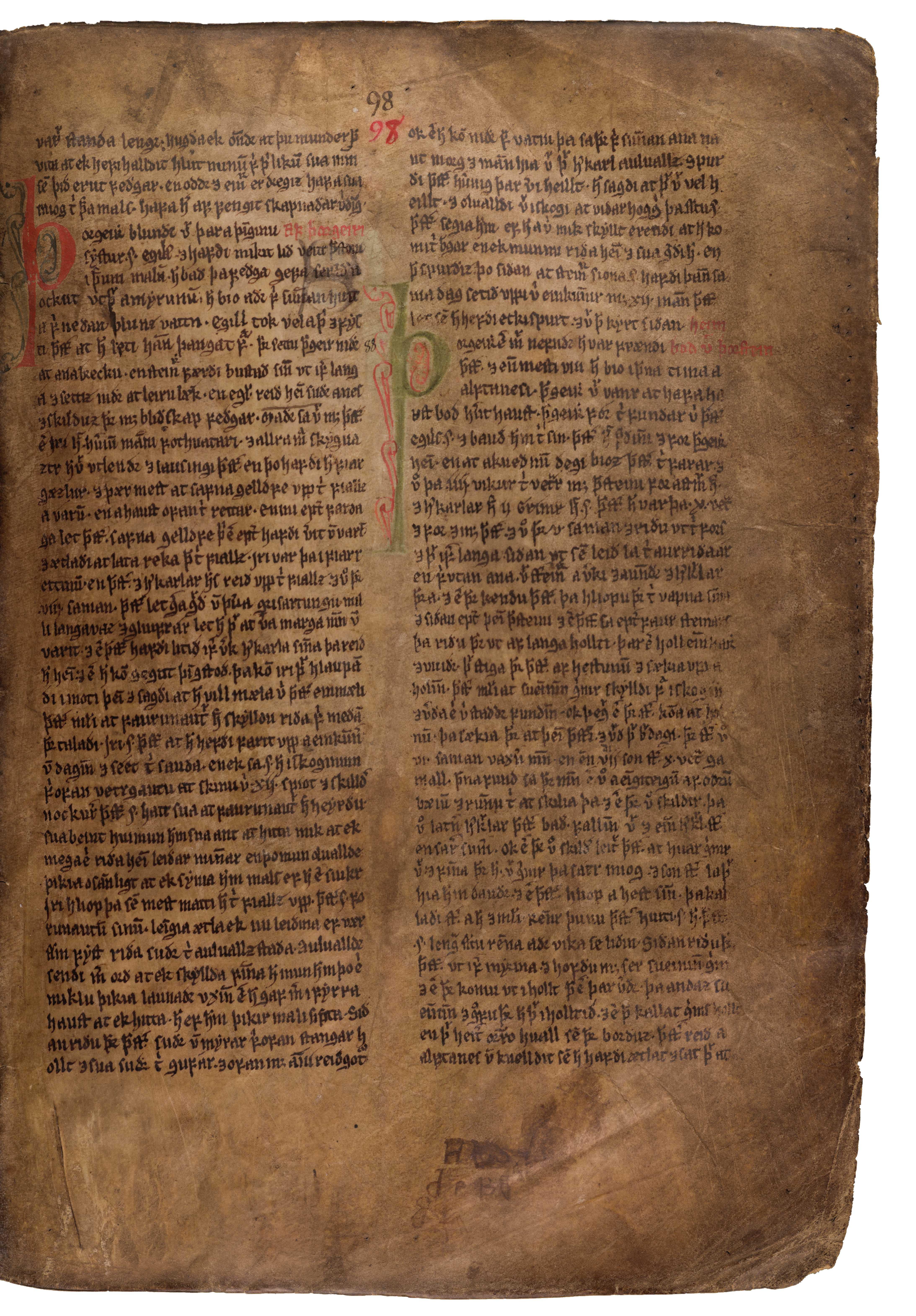 AM 132 fol - 98r