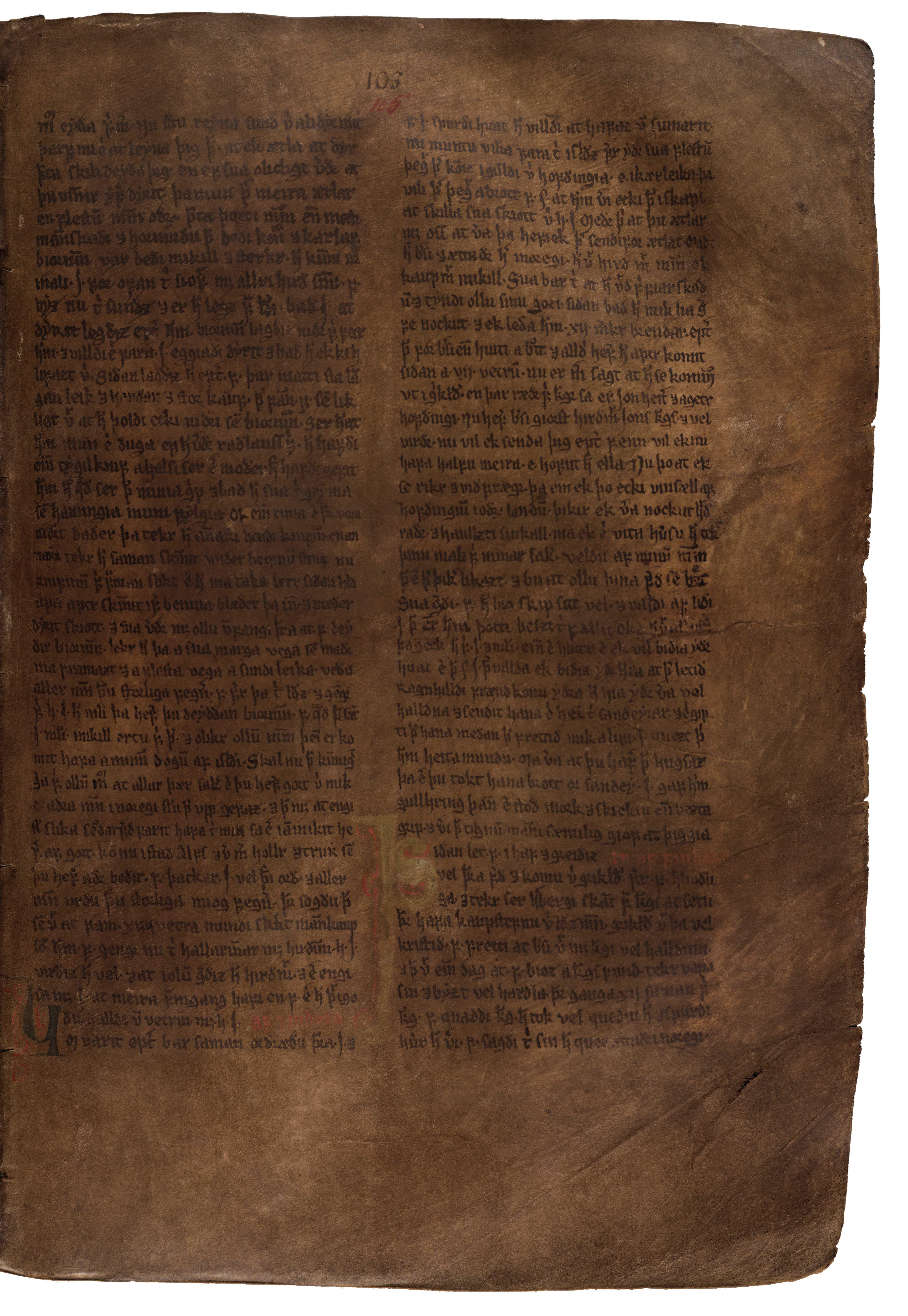 AM 132 fol - 105r