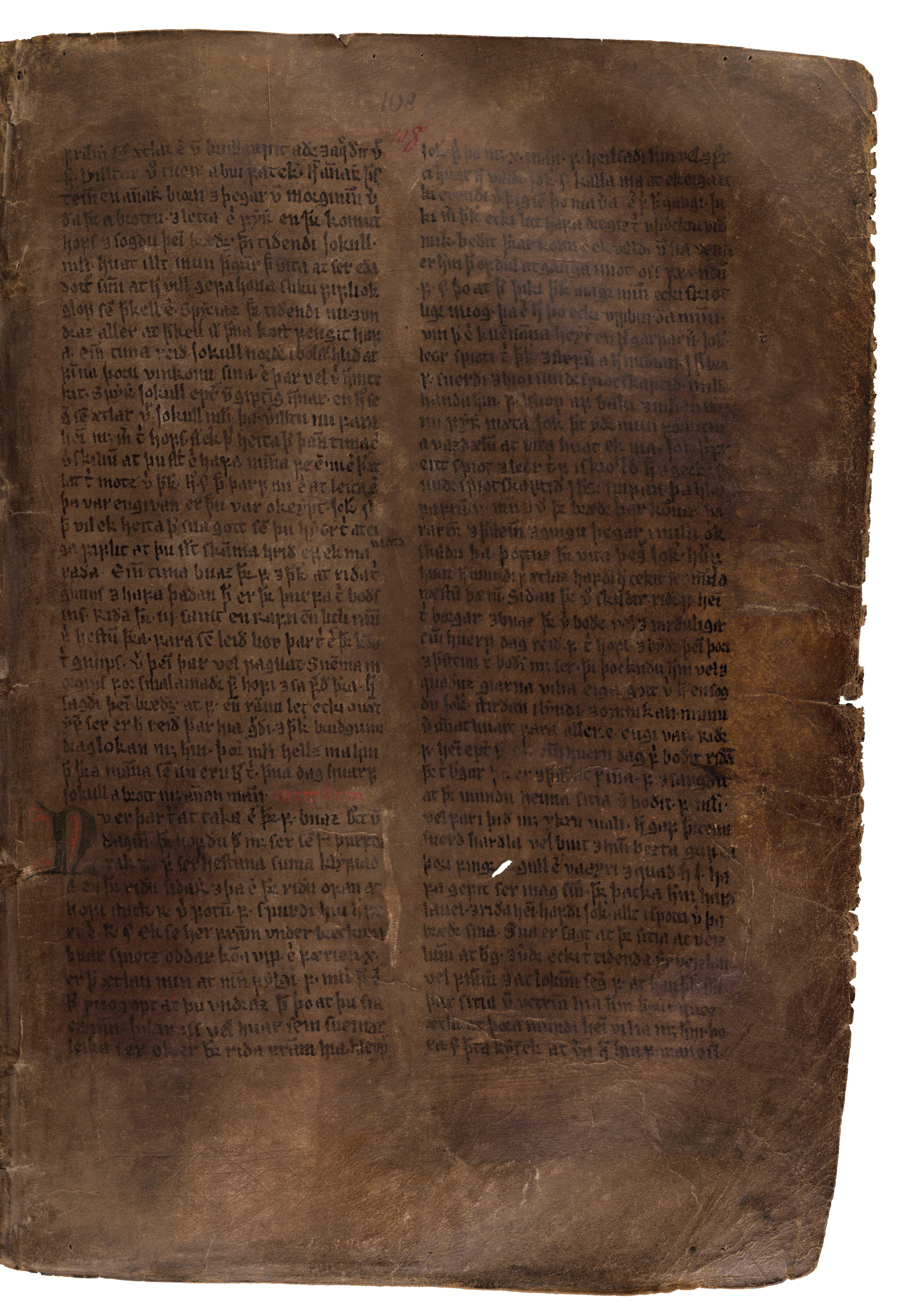 AM 132 fol - 108r