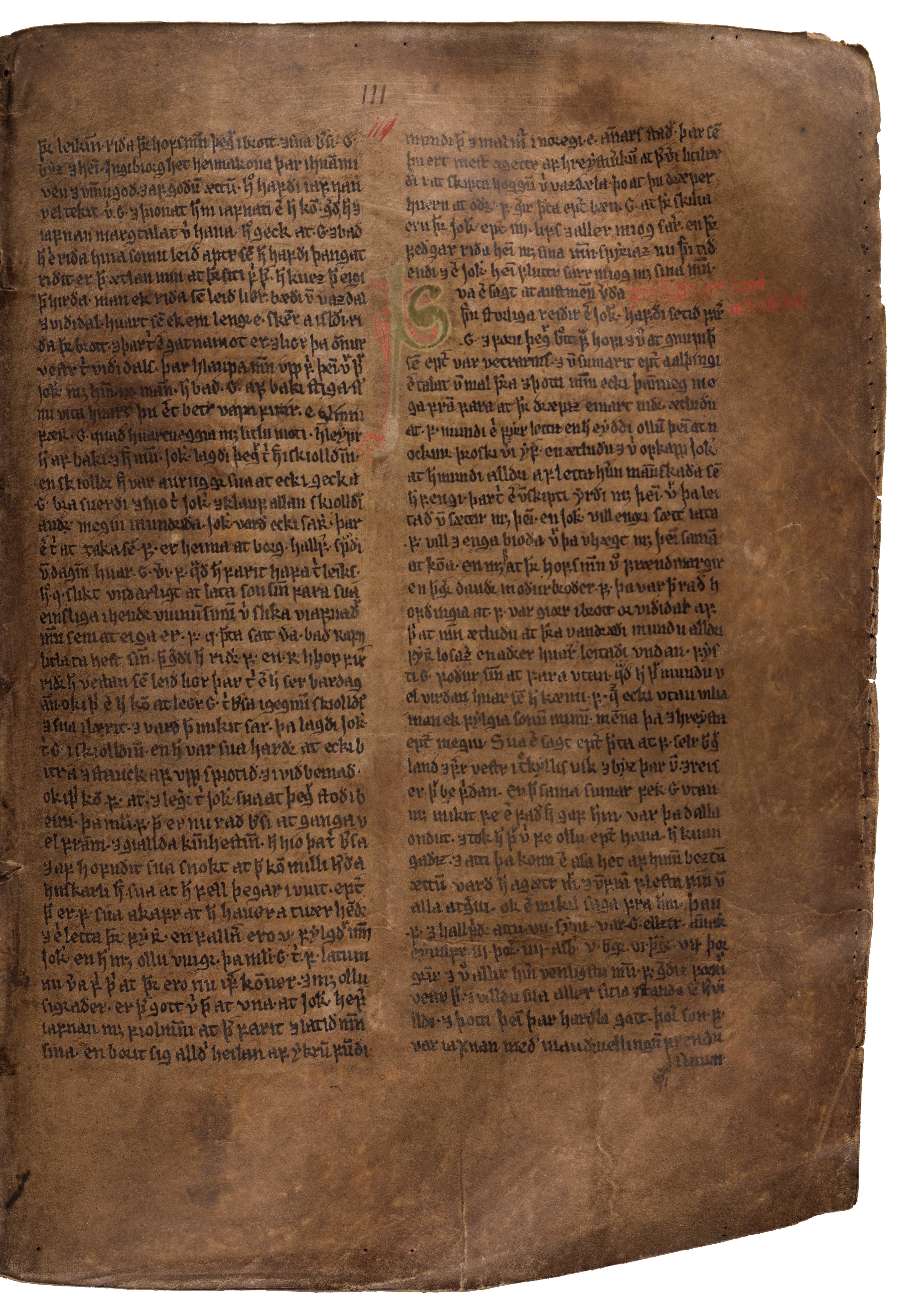AM 132 fol - 111r