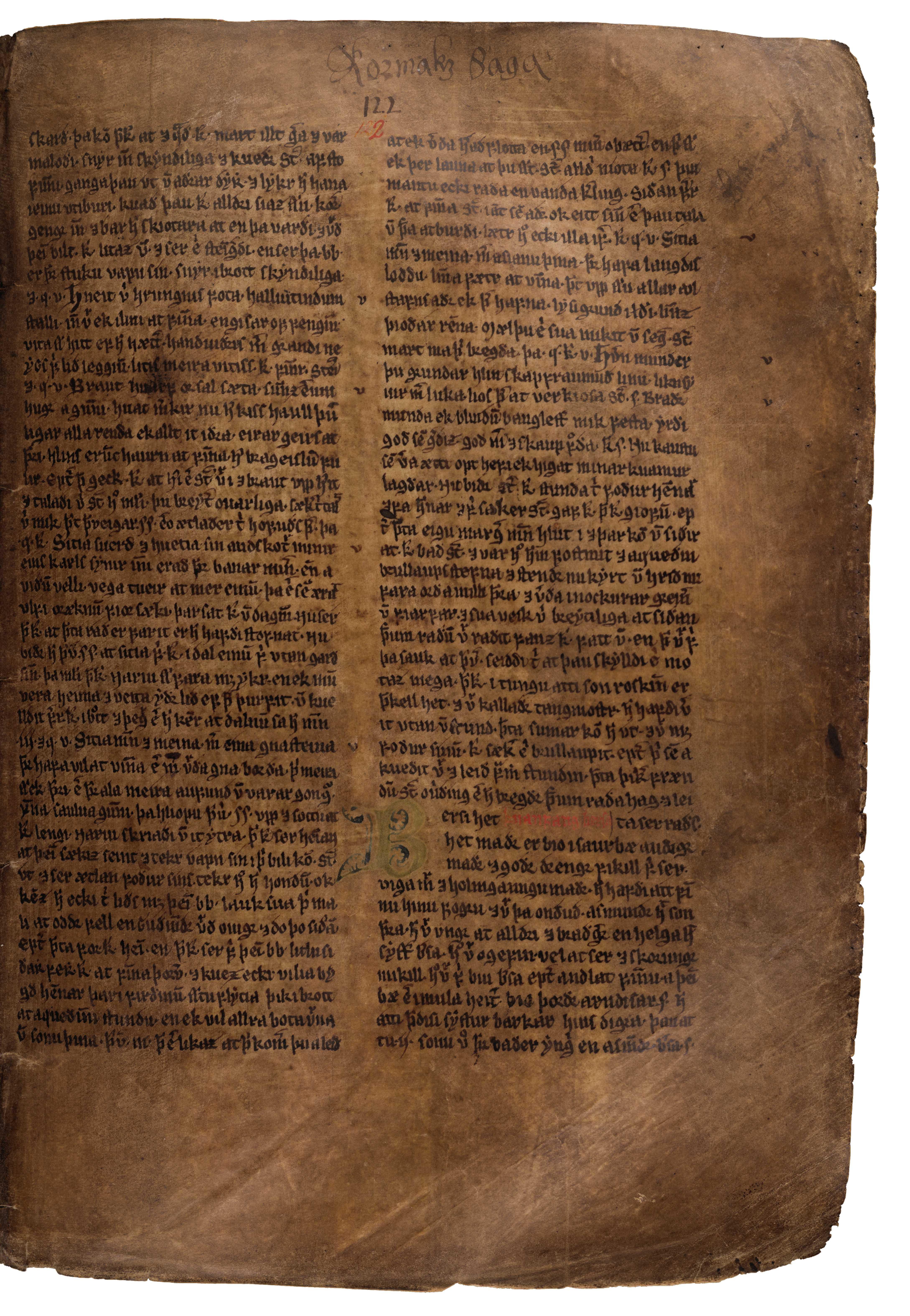 AM 132 fol - 122r