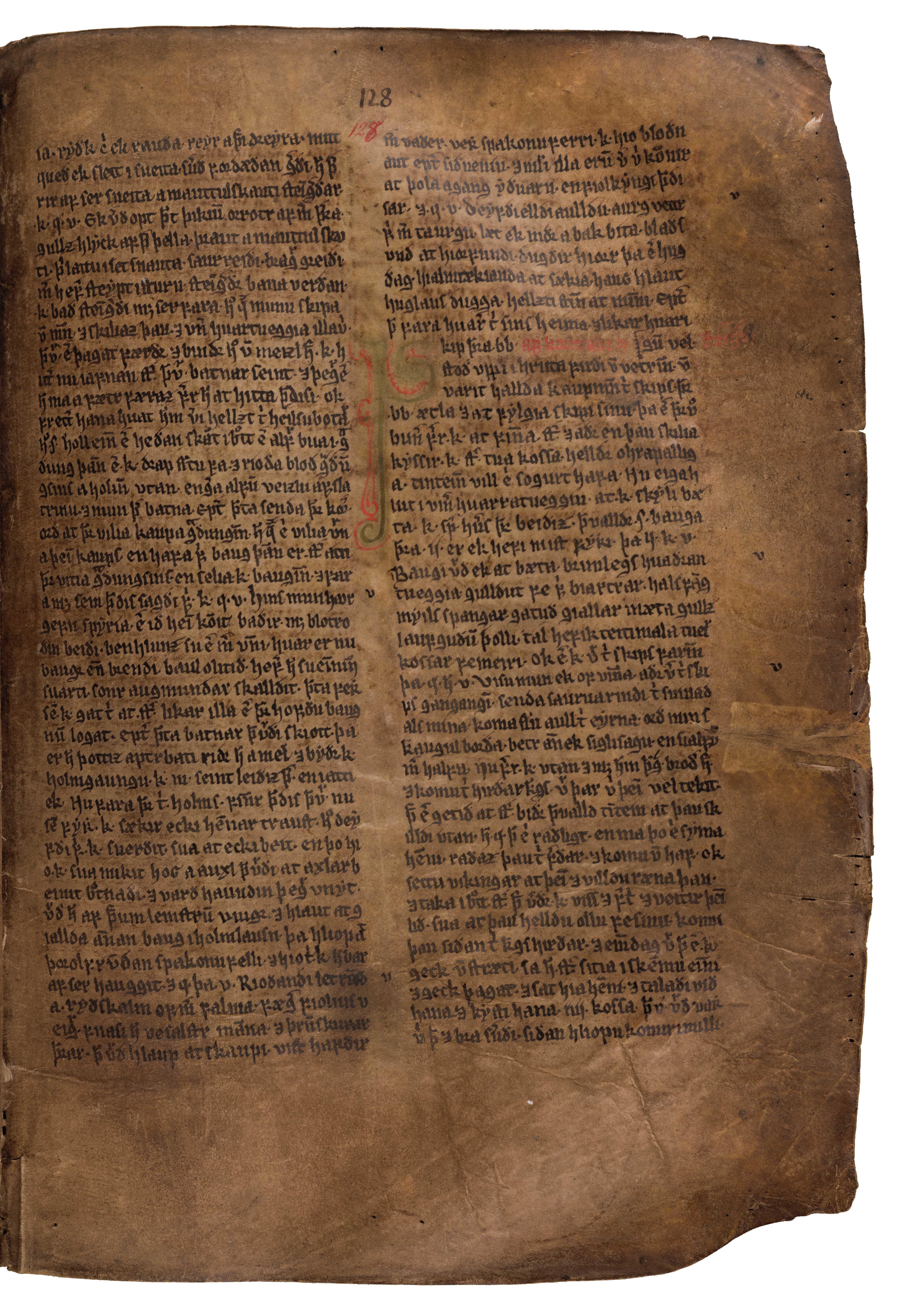 AM 132 fol - 128r