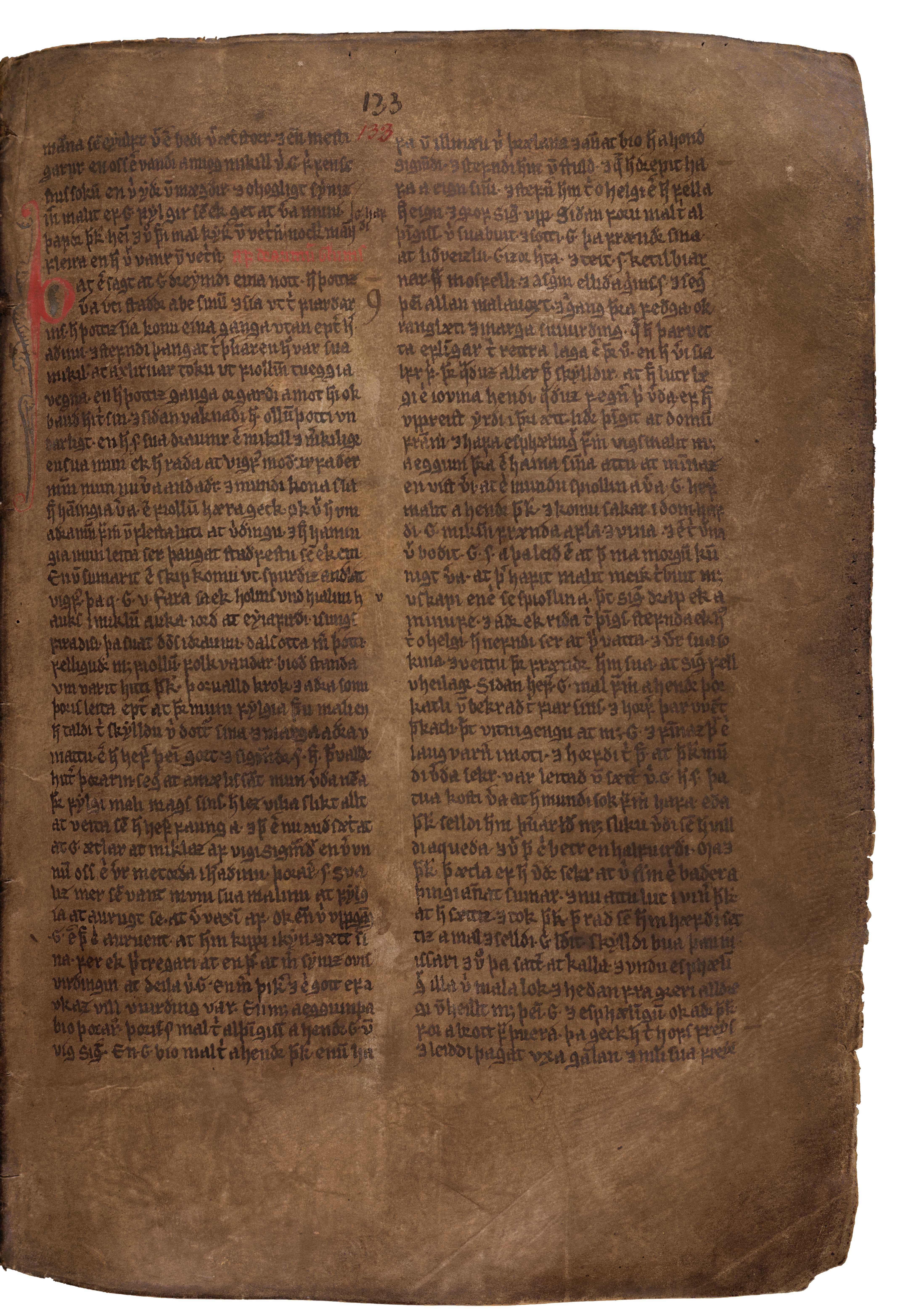 AM 132 fol - 133r