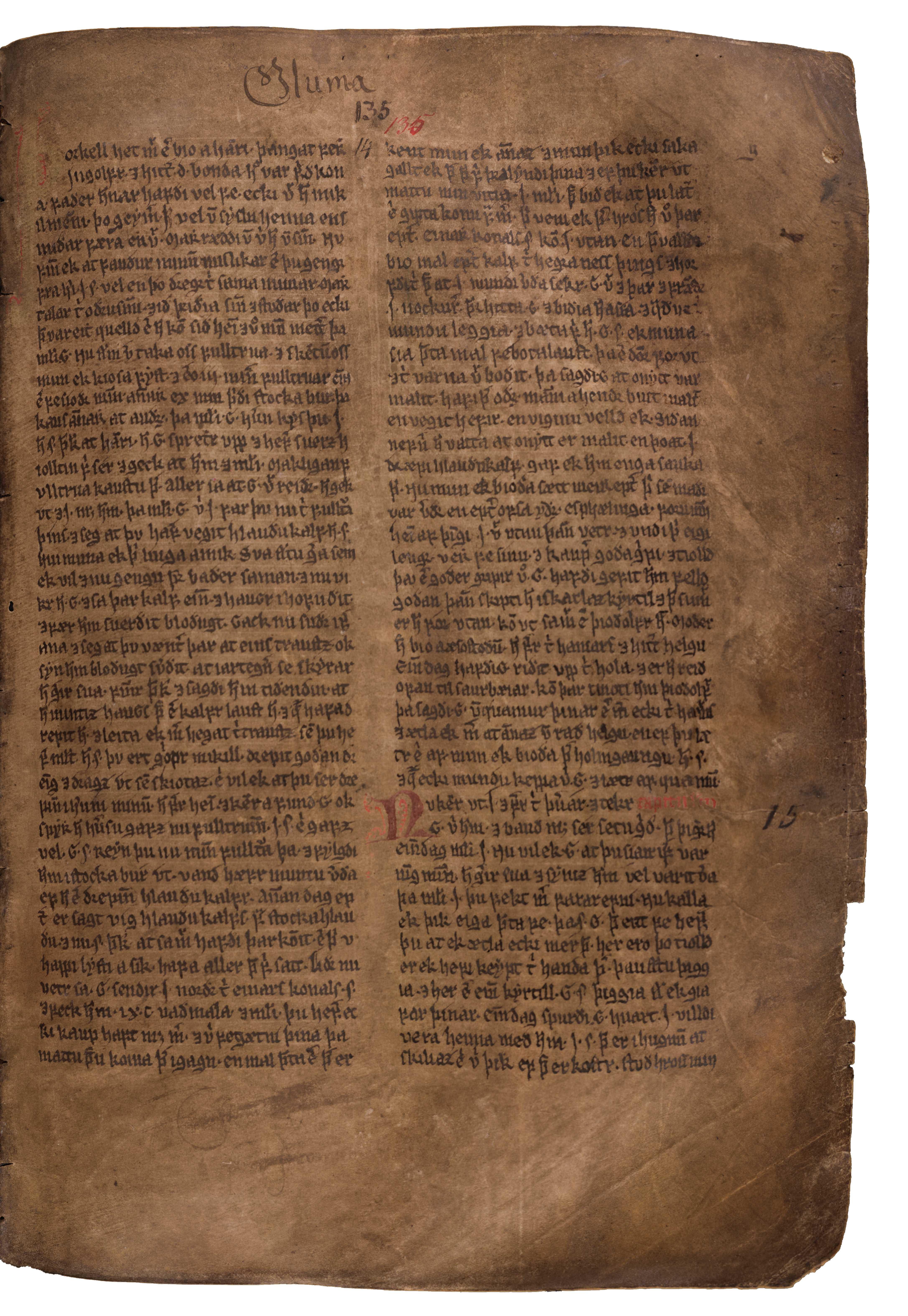 AM 132 fol - 135r