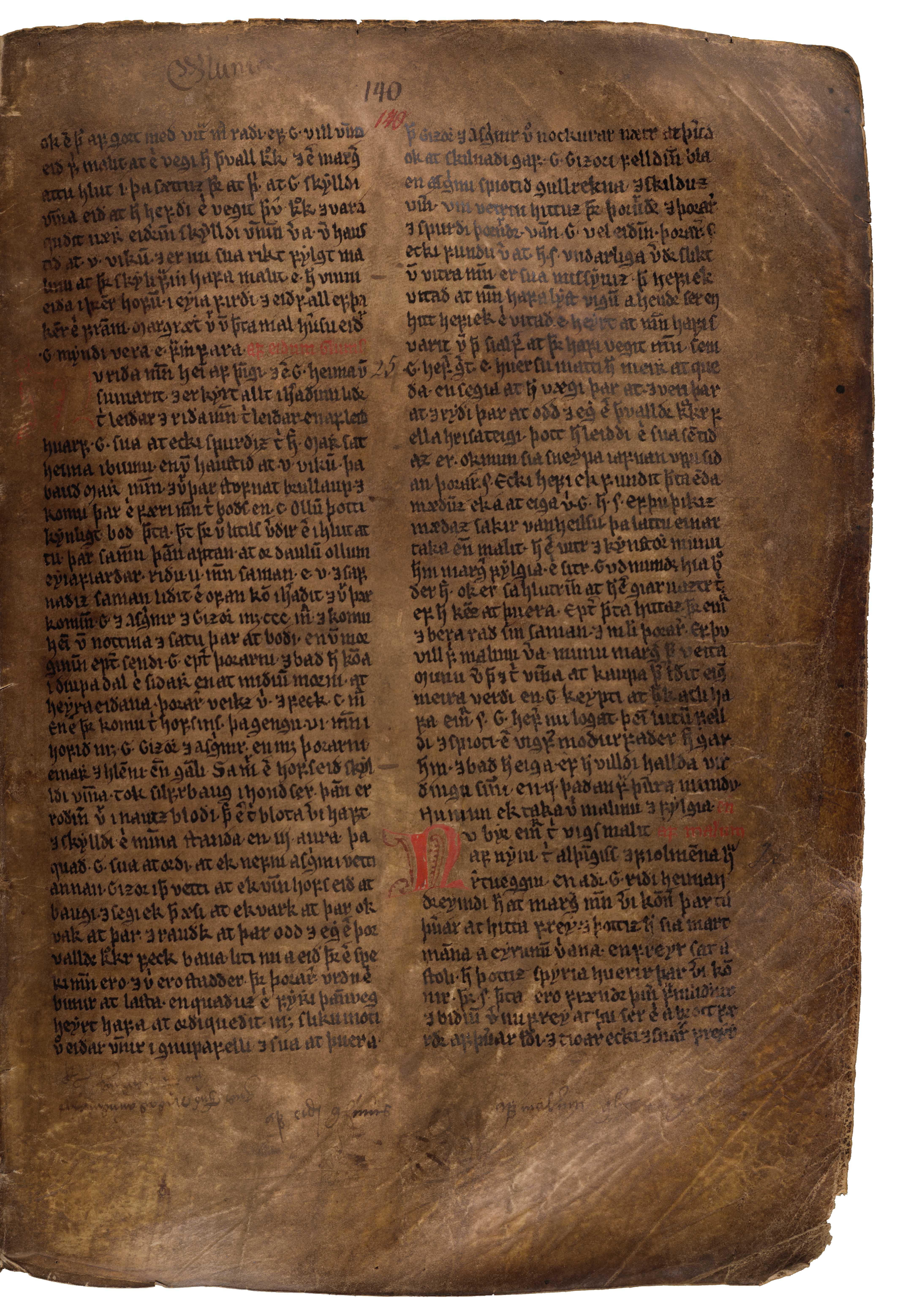 AM 132 fol - 140r