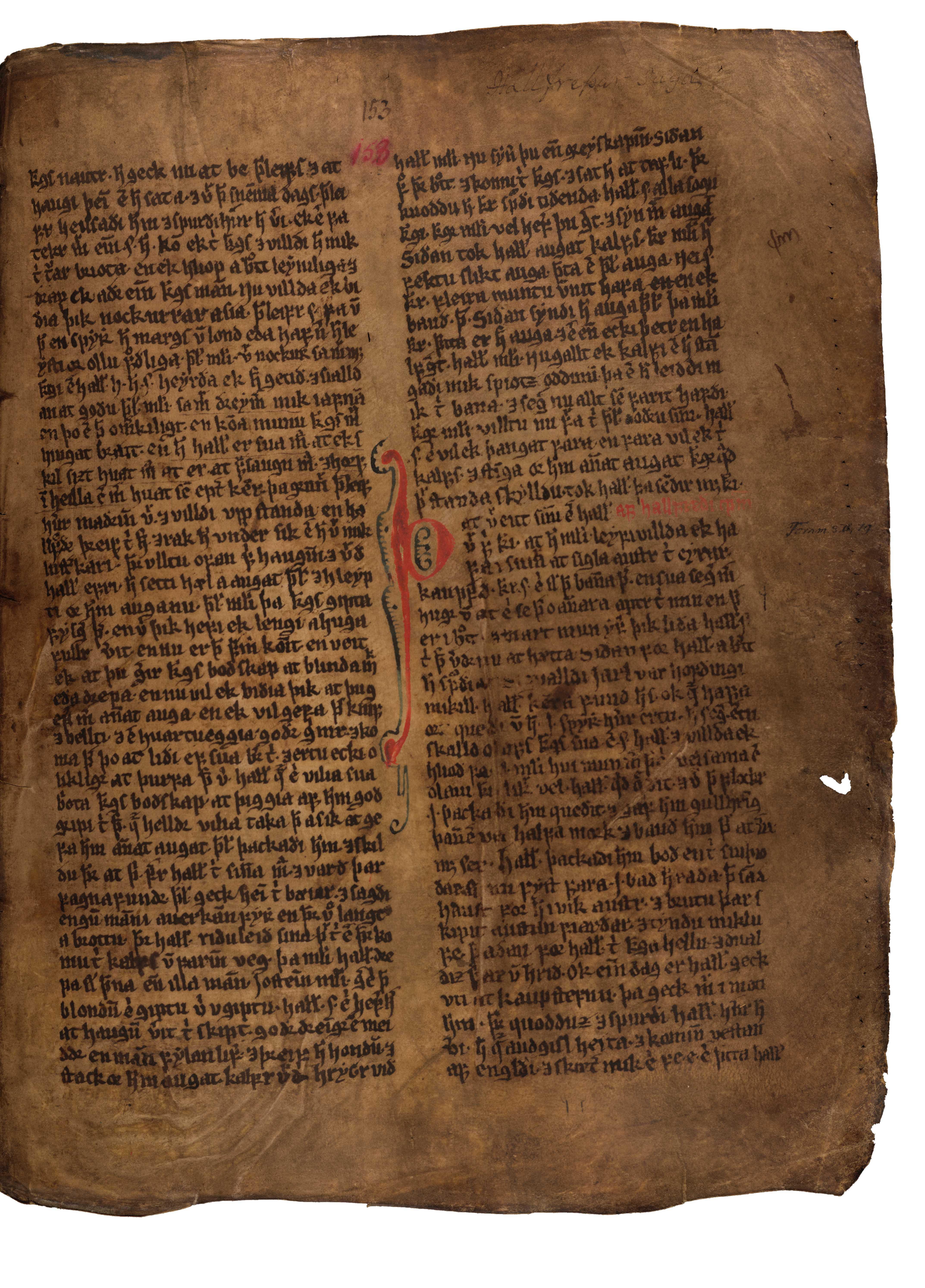 AM 132 fol - 153r