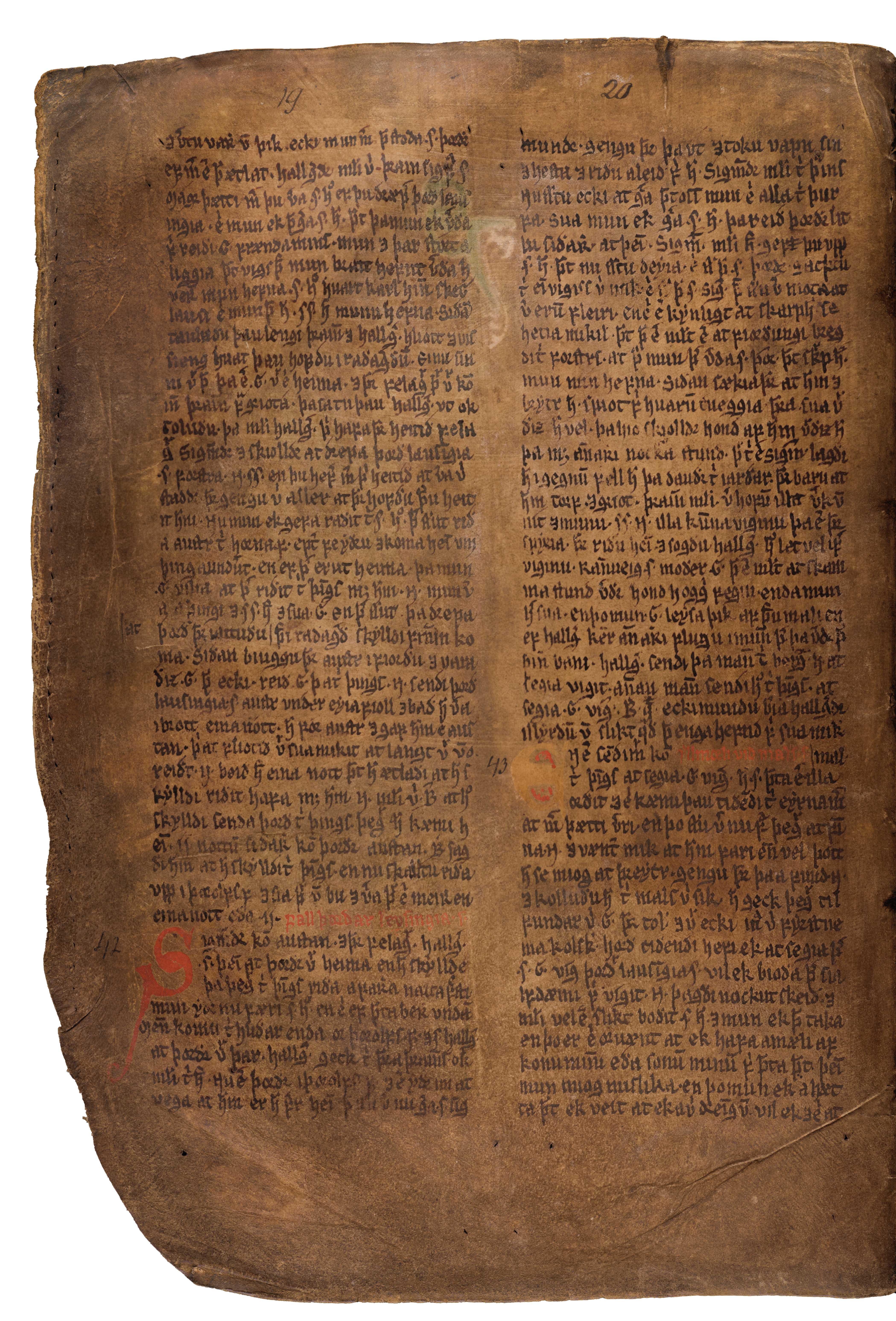 AM 132 fol - 15v