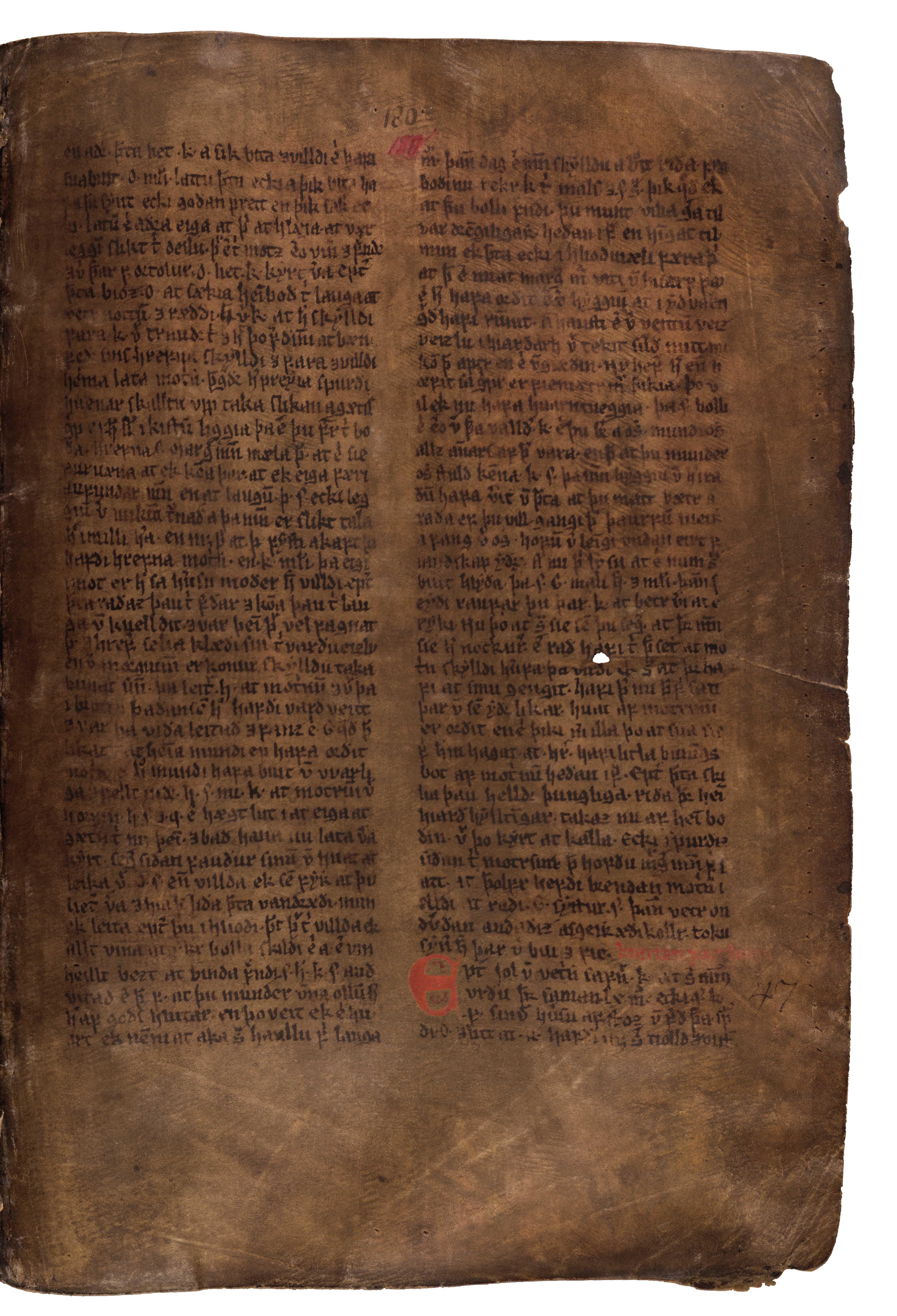 AM 132 fol - 180r
