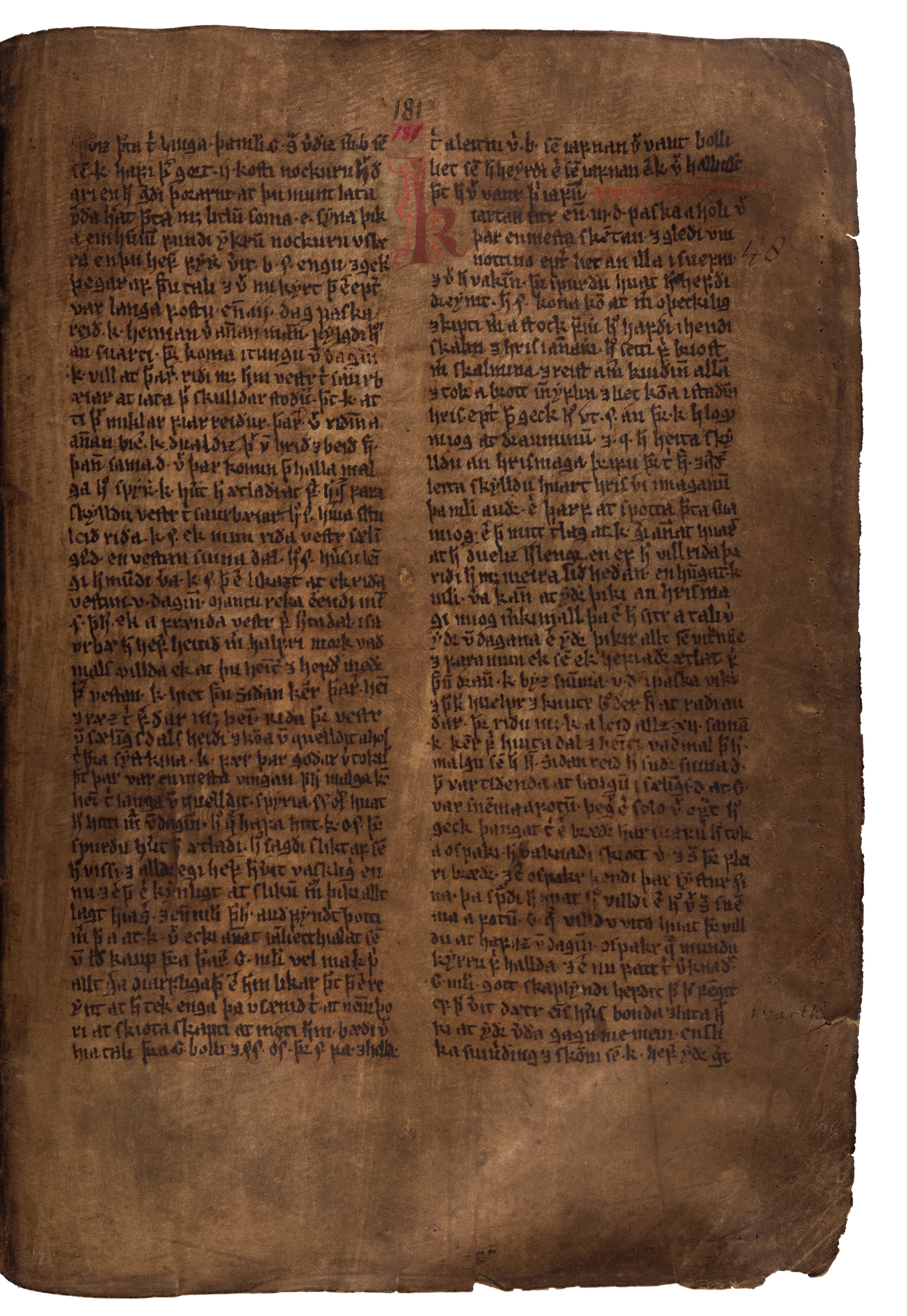 AM 132 fol - 181r