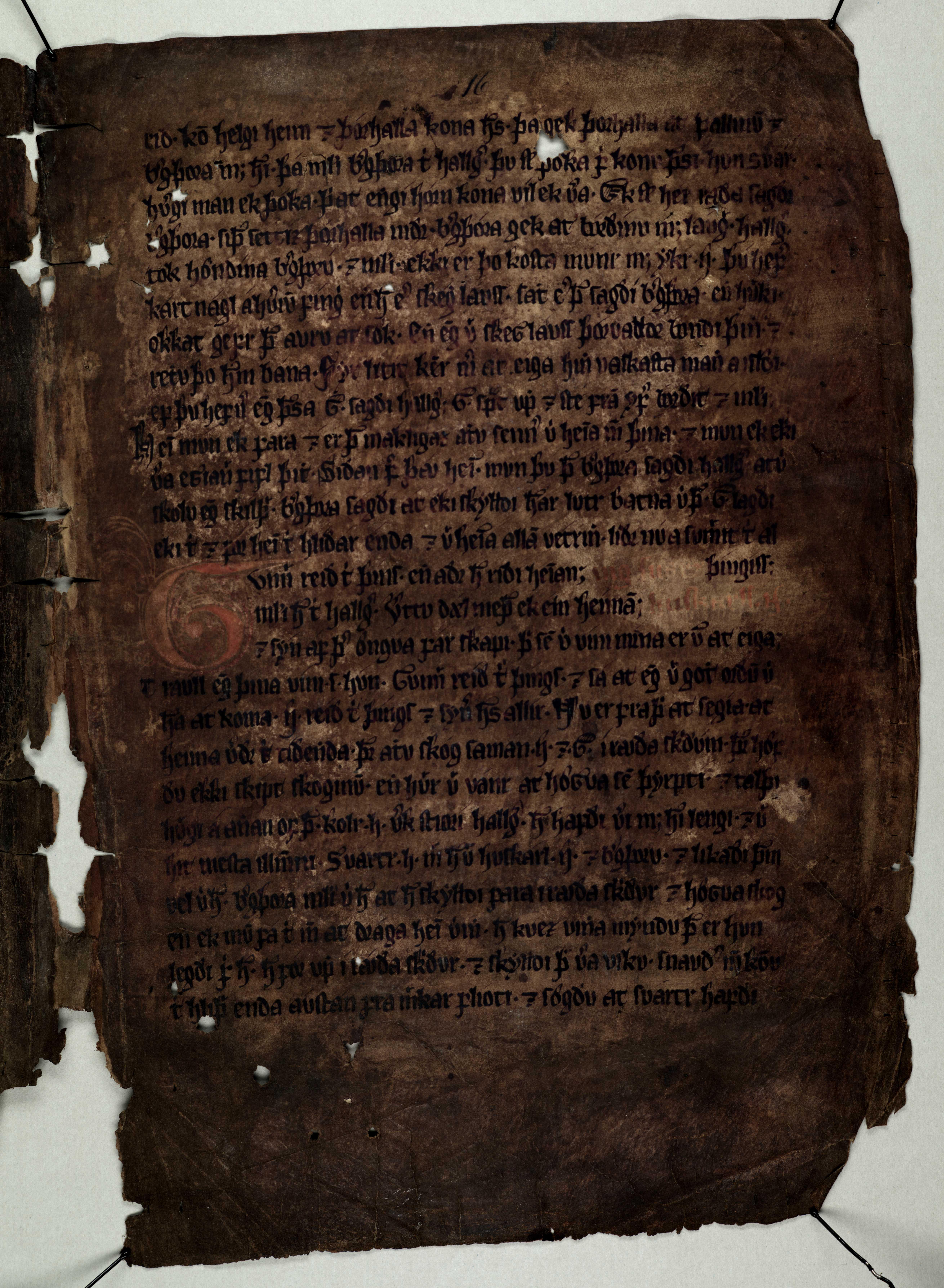 AM 133 fol - 16r