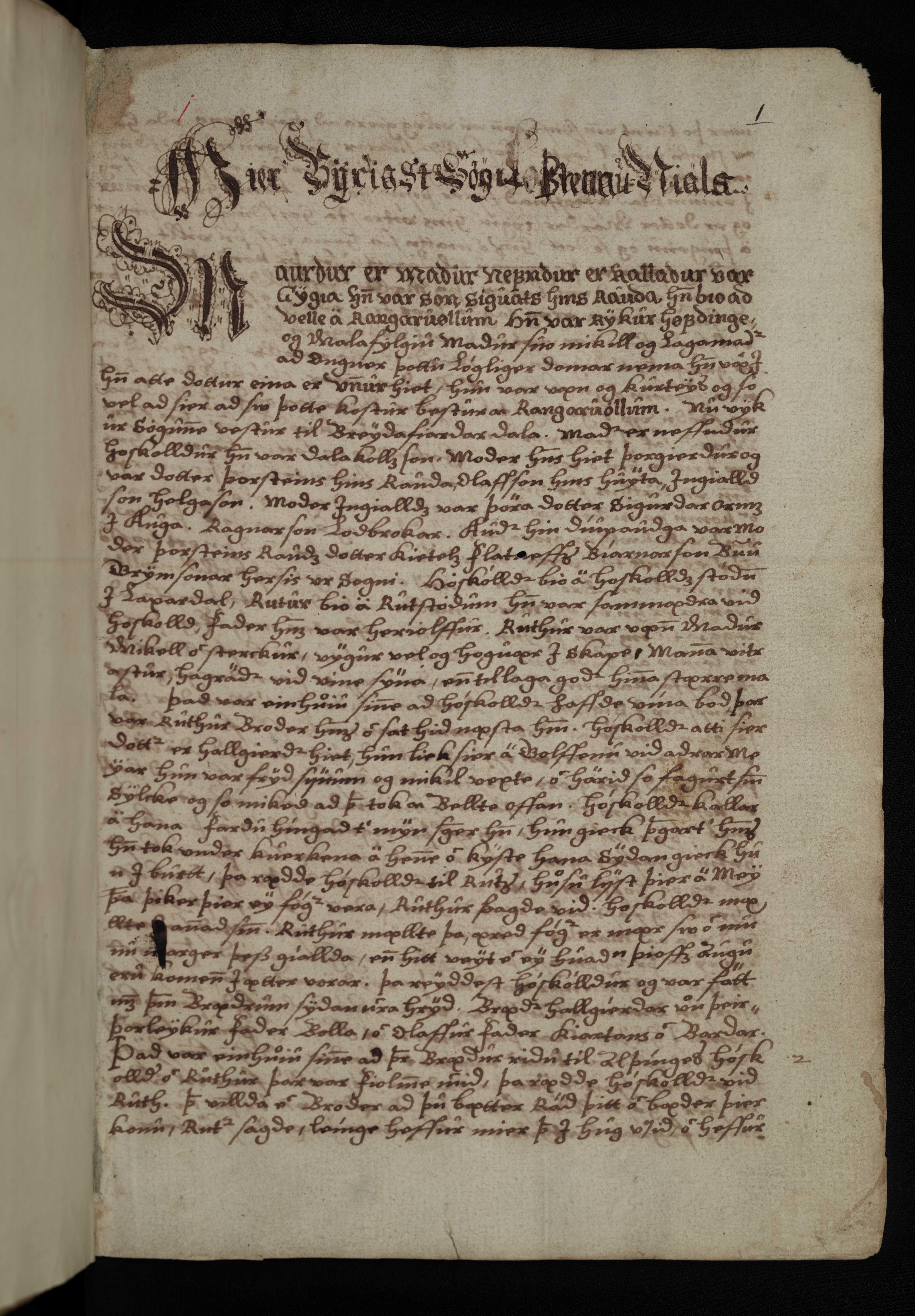 AM 136 fol - 1r