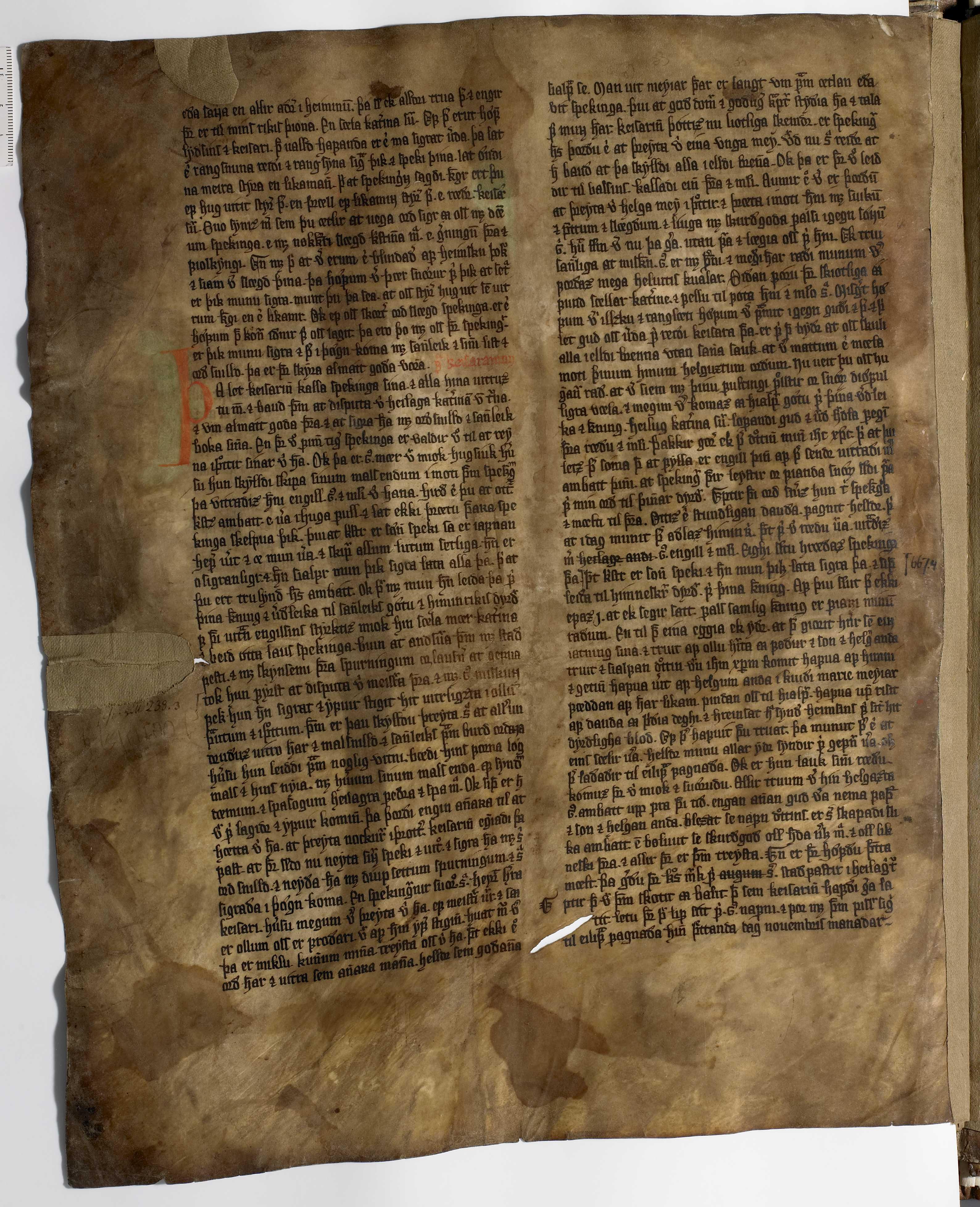 AM 233 a fol - 16v