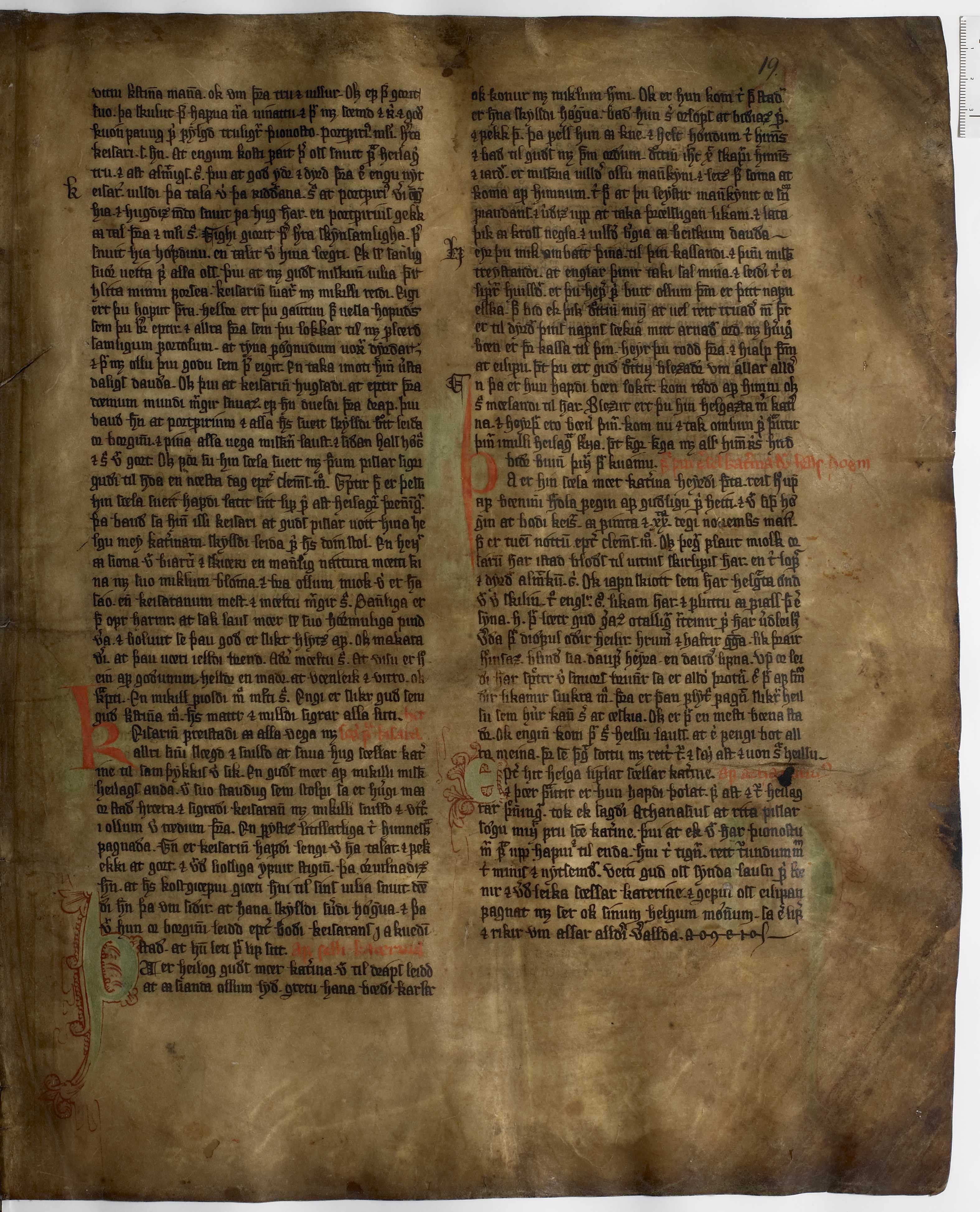 AM 233 a fol - 19r