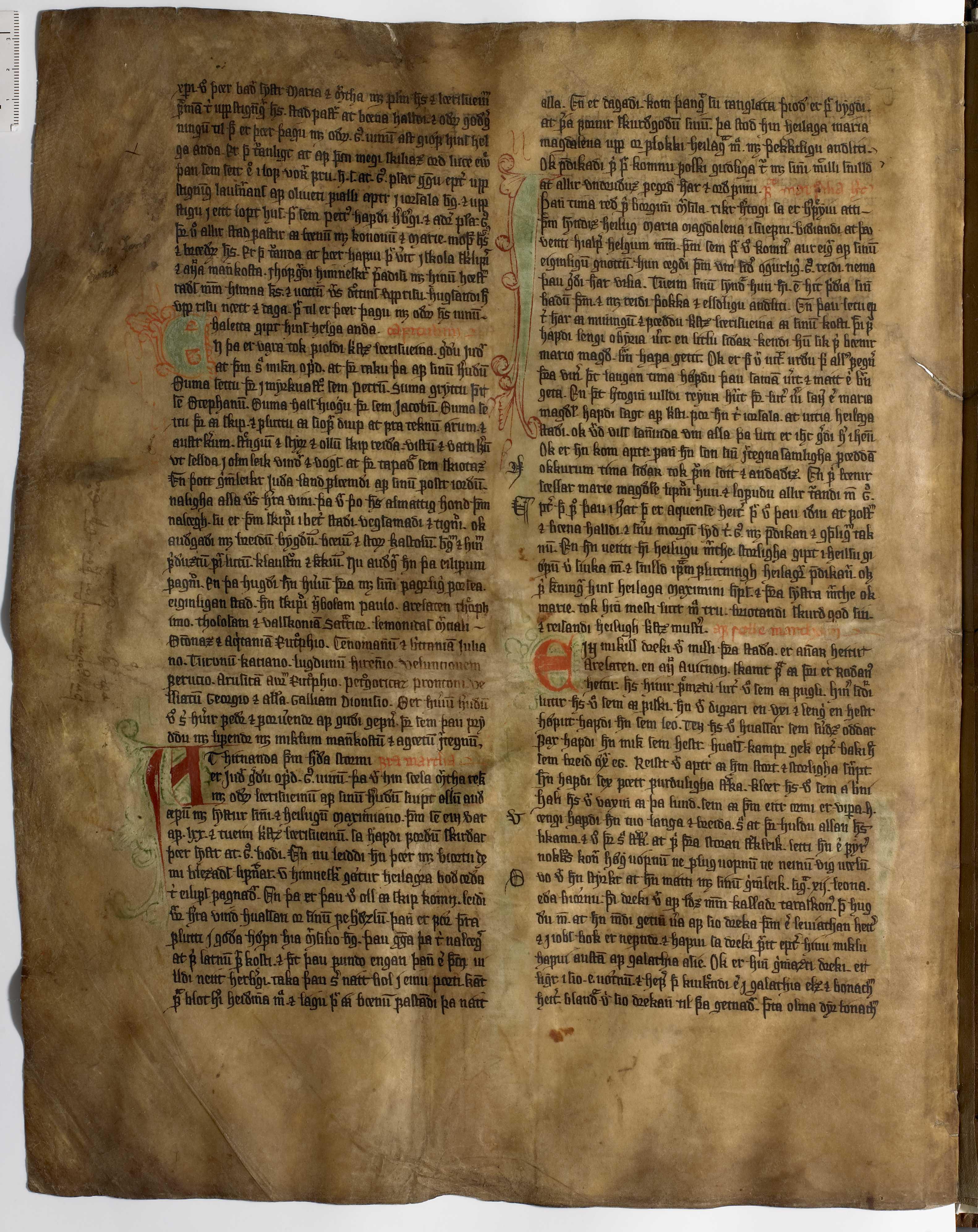 AM 233 a fol - 22v