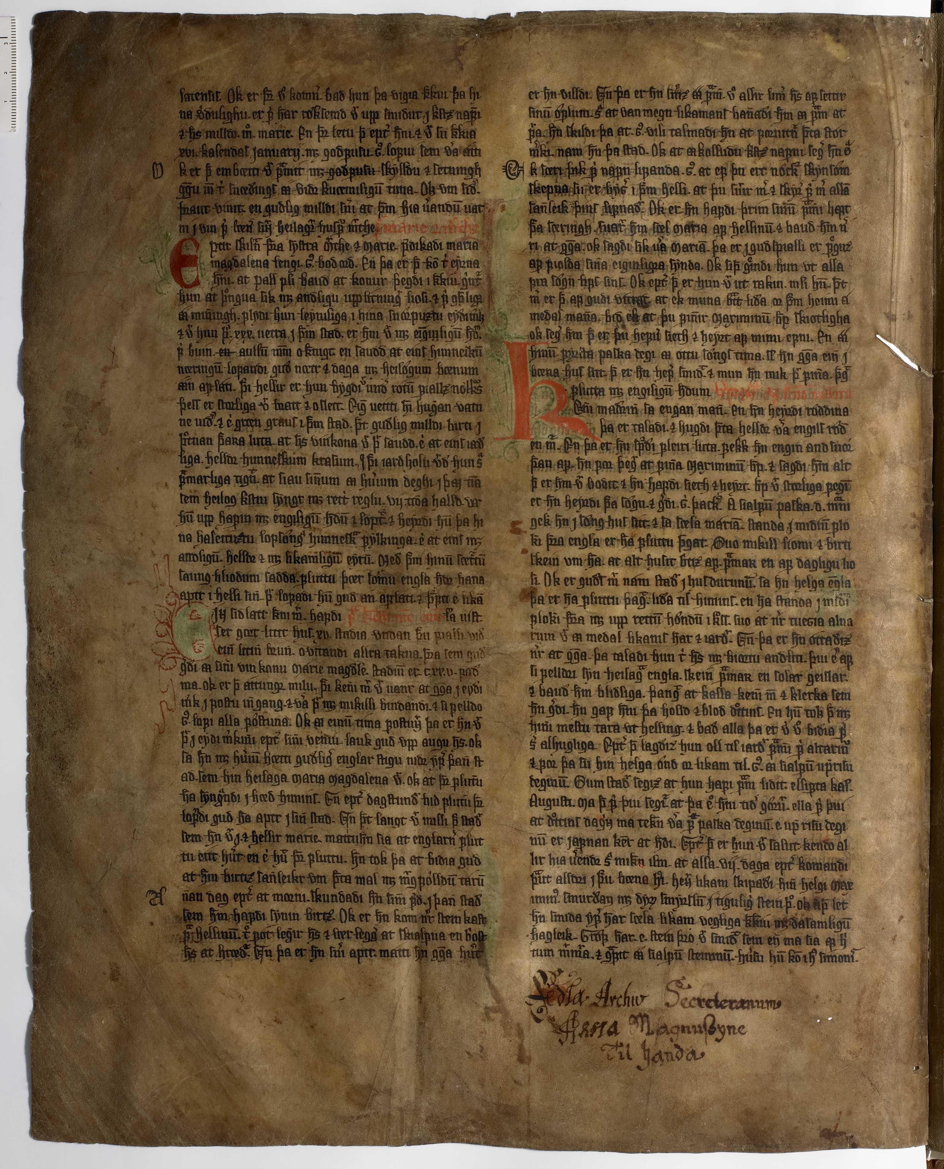 AM 233 a fol - 23v