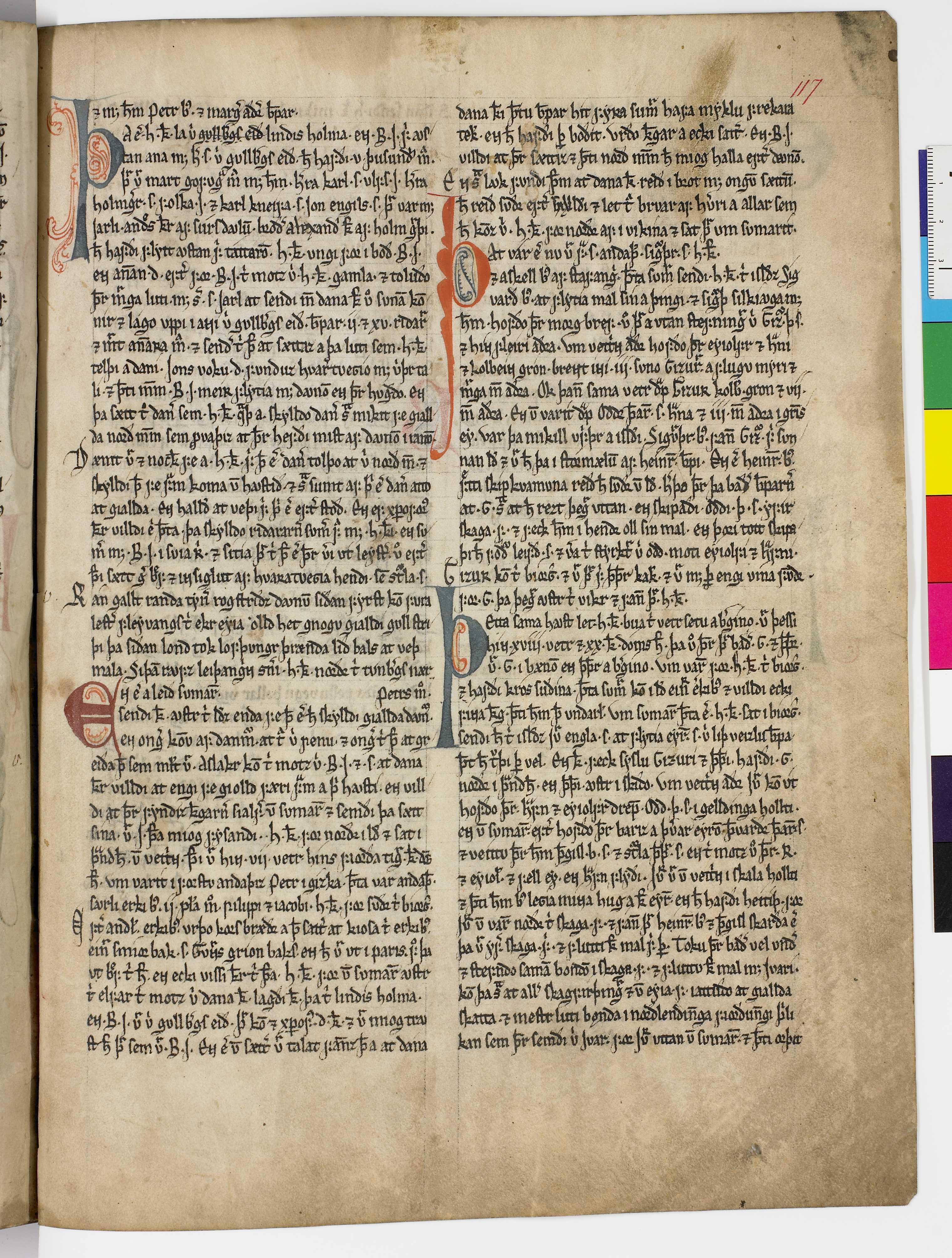 AM 45 fol - 117r