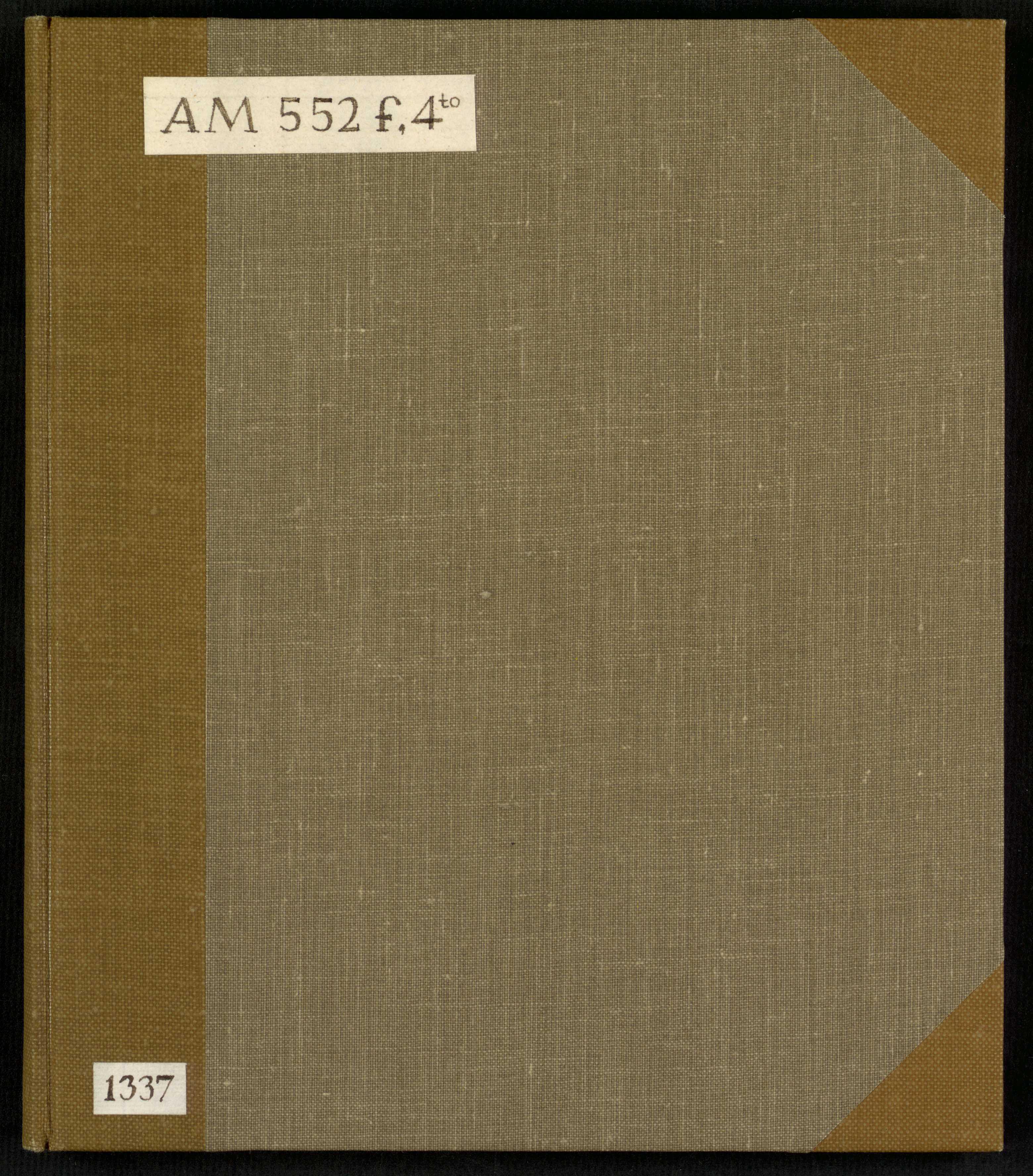 AM 552 f 4° - r-FB