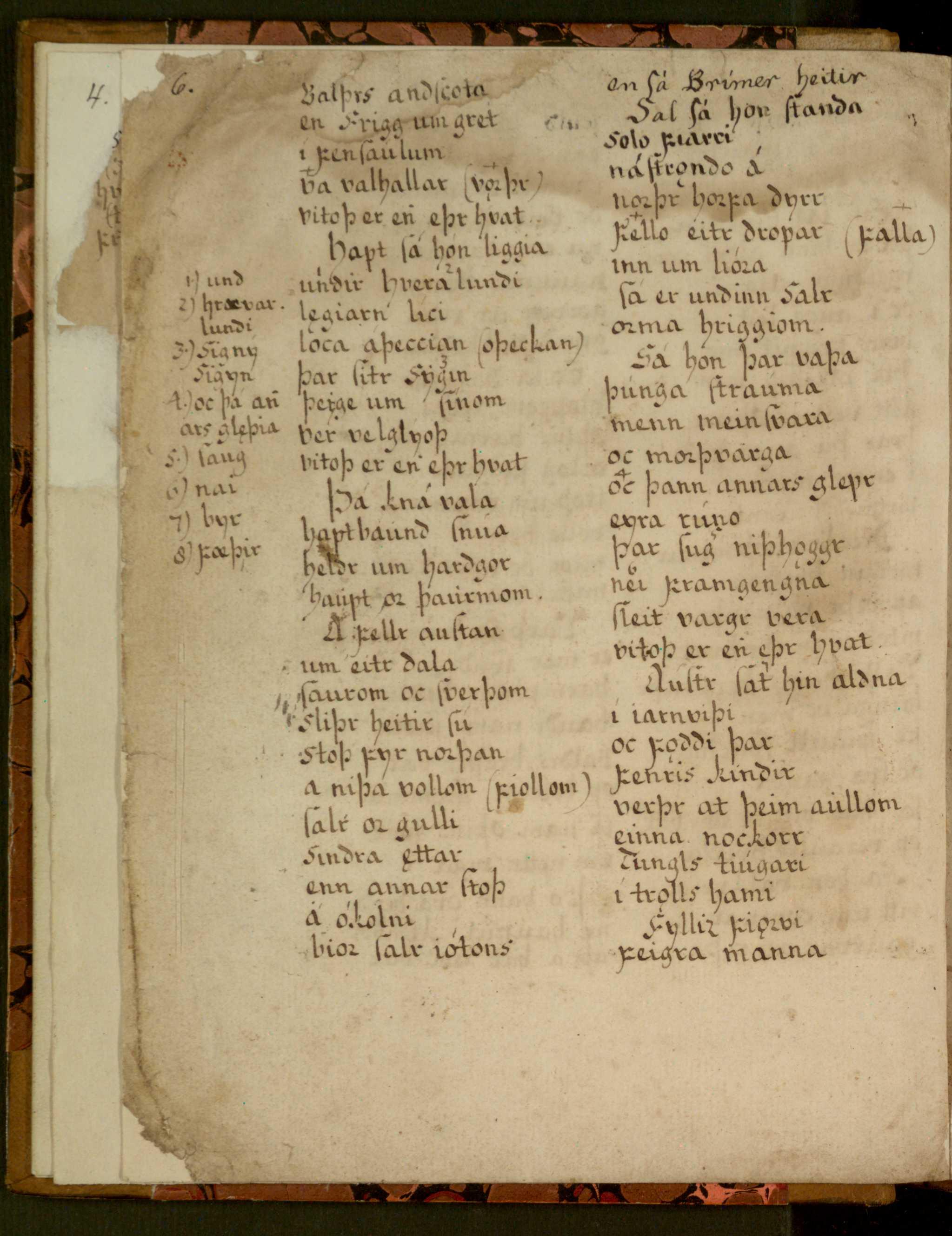 Lbs 1689 4° - 6v
