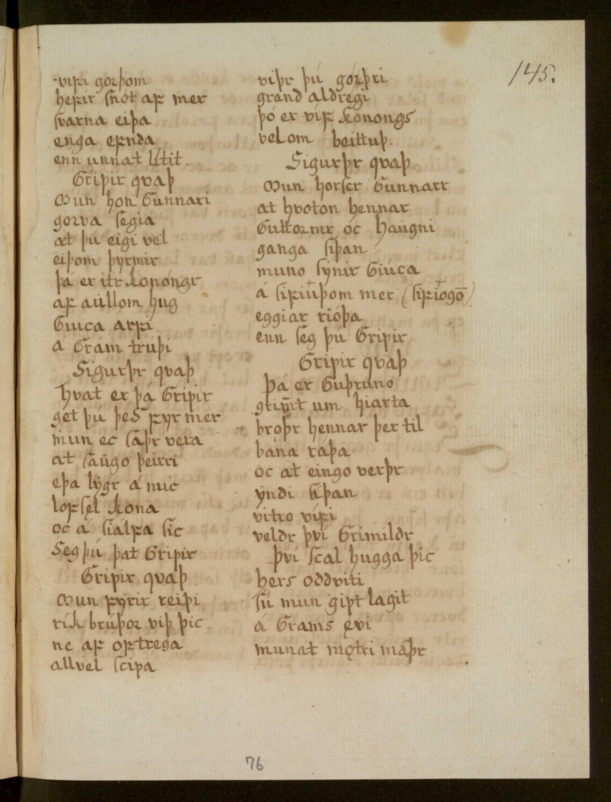 Lbs 1689 4° - 76r