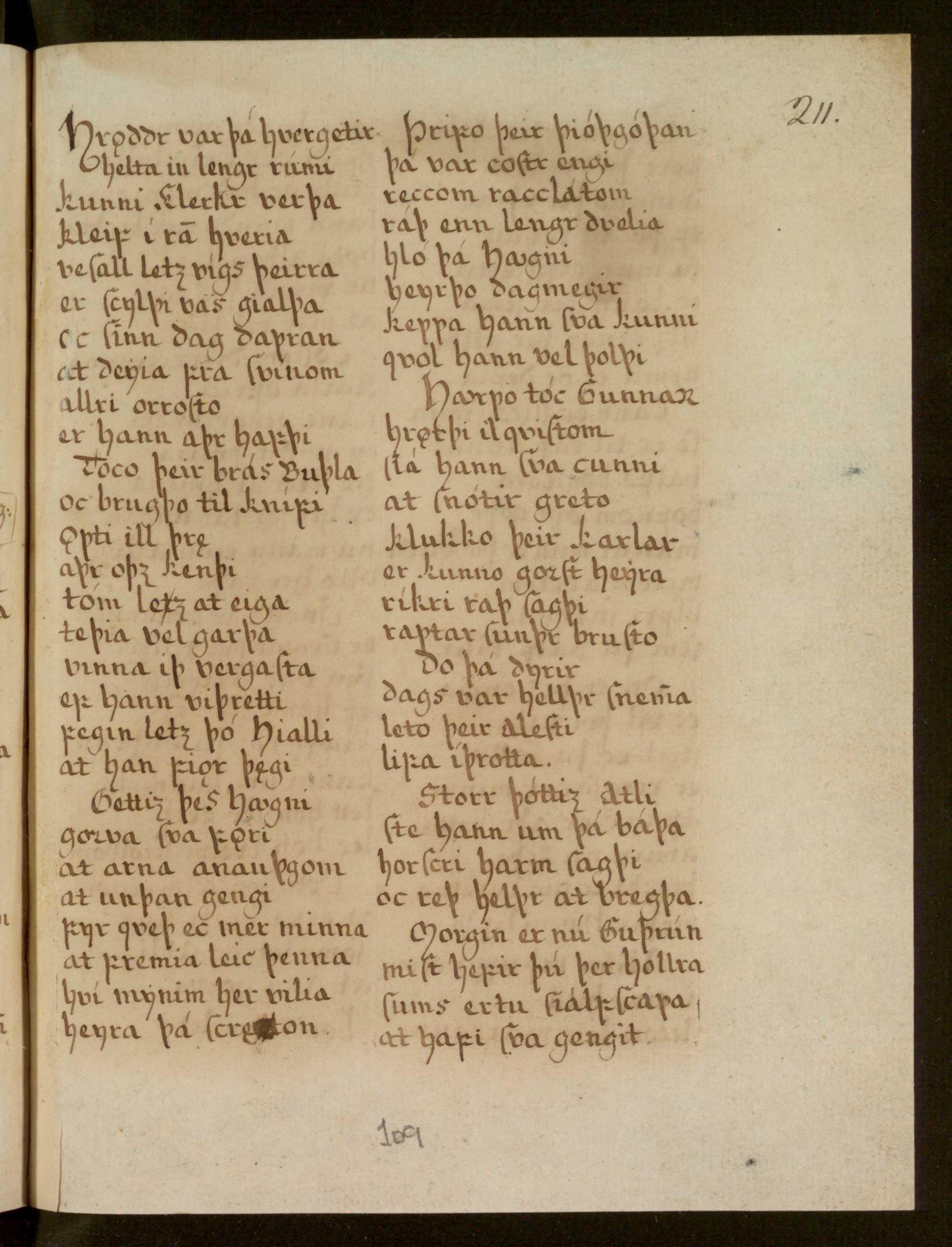 Lbs 1689 4° - 109r