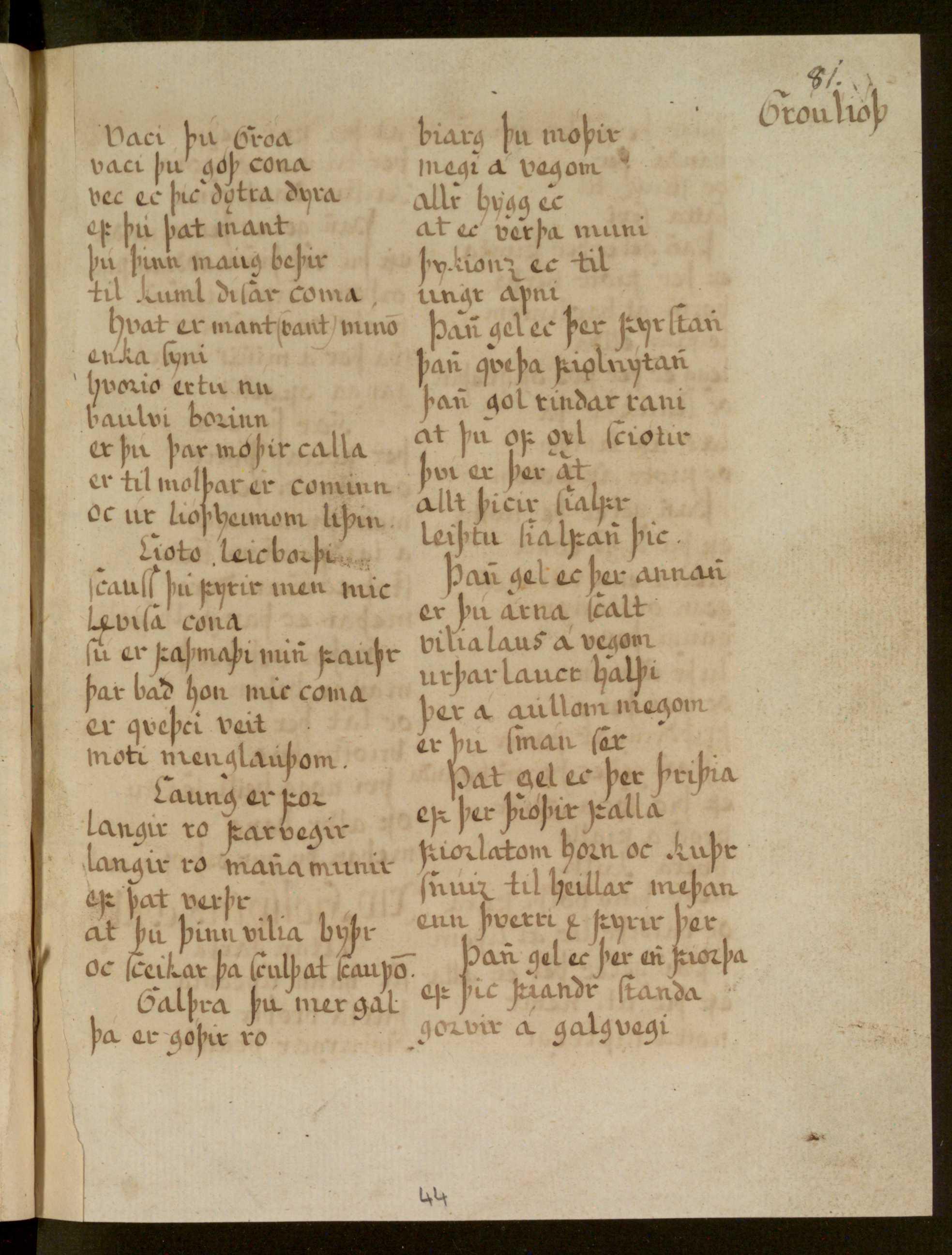 Lbs 1689 4° - 44r